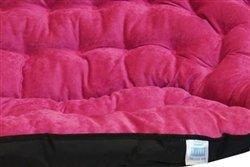 Papasan Dorm Sofa – Pink