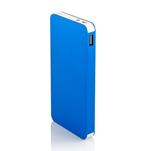 Gearonic 10000mAh Ultra Thin Power Bank - Blue
