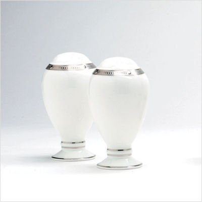 Noritake Rochelle Platinum 3-3/4-inch Salt & Pepper Shakers
