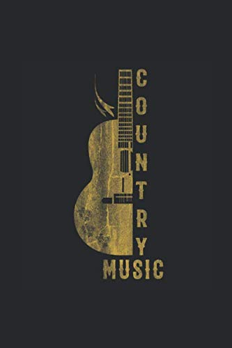 Country Music: Guitars Notebook, Graph Paper (6