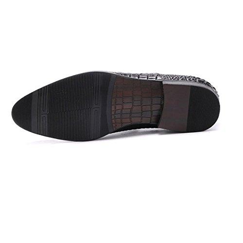Zapatos Moda Spring Exterior Banquete De Ocio Cuero Oxford Black Transpirable Hombres Boda Negocios OXHqxAzZ