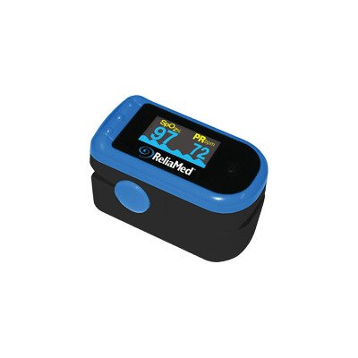 A Professional Model Digital Pulse Oximeter with a Oled Screen and 10 Brightness Levels Plus 6 Display Modes.