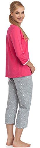 Cornette Pijamas Dos Piezas para Mujer CR-642/01 Rosa