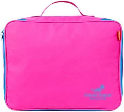 トラベルポーチ収納バッグ 旅行収納袋、荷物収納袋出し、防水、大容量、機密収納、旅行用、出張用、家庭用収納 (Color : B)