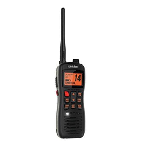 - Uniden MHS235 Submersible Floating VHF/GPS Handheld Marine Radio - 1 Year Direct Manufacturer Warranty