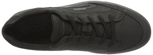 Ecco Ennio, Sneakers Basses Homme, Noir (Black), 41 EU