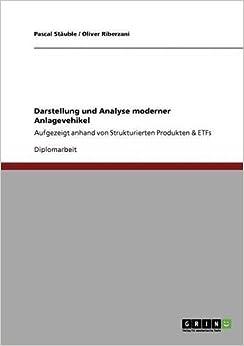 Book Darstellung und Analyse moderner Anlagevehikel
