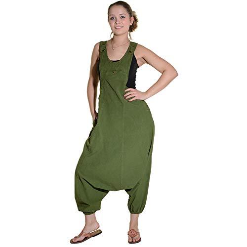 Mujer Und Mono Verde Para Pantalón Kunst Magie FqxXX4