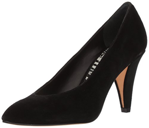 Dolce Vita Women's Luella Dress Pump, Onyx Suede, 8 UK/8 M US