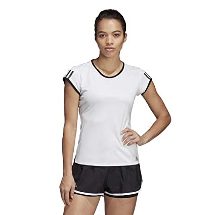 af6a98c8349 Amazon.com : adidas Women's Club 3-stripes Tennis Tee : Sports ...