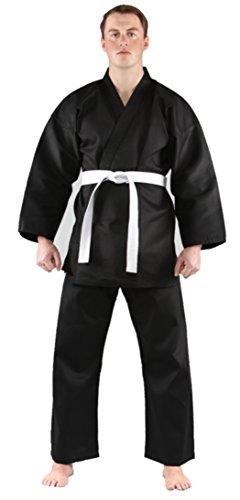 Tiger Claw Traditional Karate Uniform (Black, 2) ()