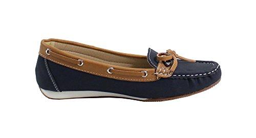 By Shoes - Mocasines para Mujer Bleu