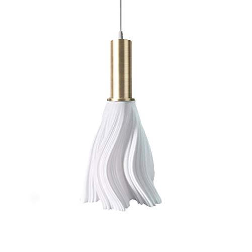 KUNGKEN Lighting Chandelier LED 3D Printed Pendant Modern Minimalist Ceiling Lamp for Kitchen Restaurant Cafe Hotel Foyer Decoration W1