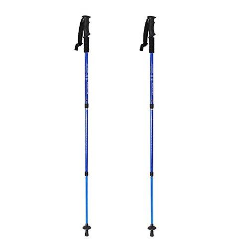 Adjustable Lightweight Alpenstock Telescoping Mountaineering
