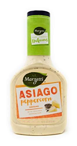 Marzetti Asiago Peppercorn Dressing, 16 oz (Pack of 3) ()