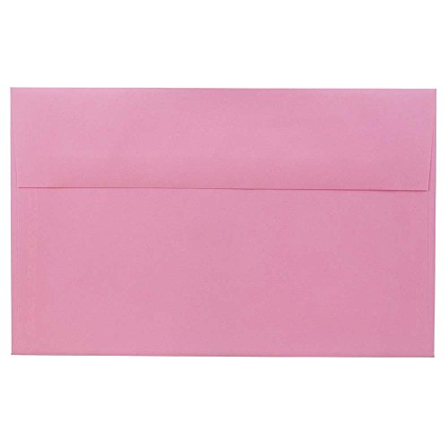 - JAM PAPER A10 Colored Invitation Envelopes - 6 x 9 1/2 - Ultra Pink - 50/Pack