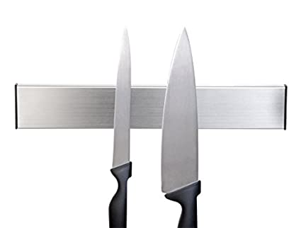 Axial - Soporte para cuchillos, listón magnético, para pegar o taladrar
