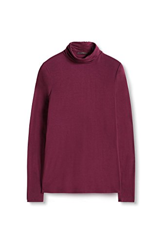 ESPRIT Collection, Camisa para Mujer Rojo (bordeaux Red 600)