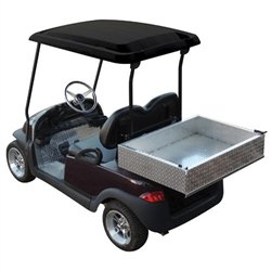 "Club Car Precedent Golf Cart 54"" Black Roof Top Replacement -  PARTS Direct, TOP-0051"
