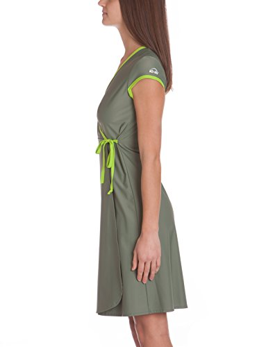 Company da nbsp;Beach UV iQ Dress spiaggia verde vestito Fasciatoio donna per 300 sofferenza AwXSdxq