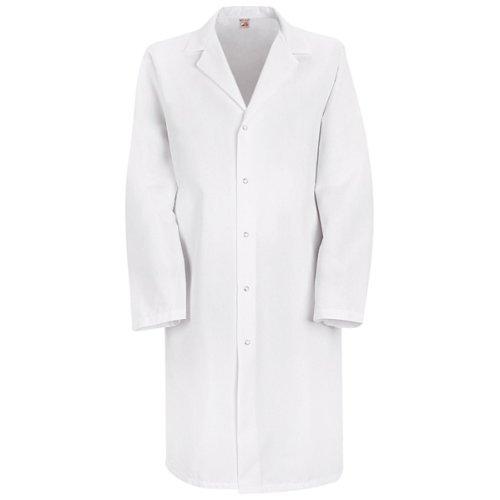Red Kap Men's Specialized Lab Coat, White, Medium