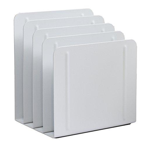 Section Four (Acrimet Desk Metal File Sorter 4 Sections (White Color))