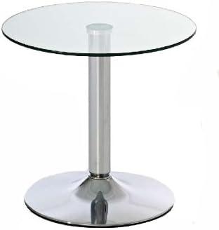 Tavolo Tondo In Vetro.Clp Tavolino Tondo In Vetro Ikarus Tavolino Da Appoggio Con