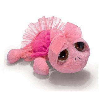 Russ Swirly - Tortuga de peluche con tutú (35,6 cm)