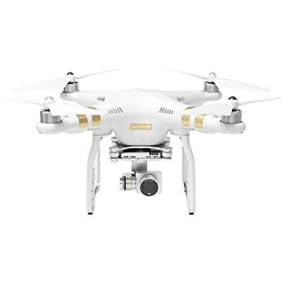 DJI Phantom 3 Professional Quadcopter with 4K Camera and 3-Axis Gimbal (Controller and Battery Charger Not Included)