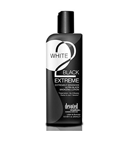 (White 2 Black Extreme Advance Black Bronzer 3 Shades Darker 8.5z by Devoted Creations)