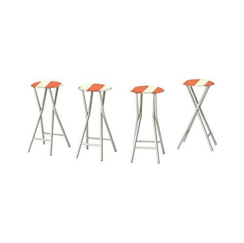 best-of-times-candy-striper-padded-bar-stools-set-of-4-orange-sherbet