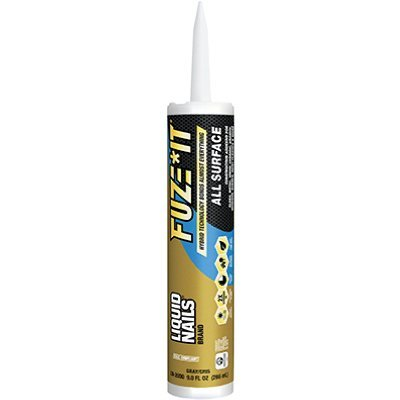 (Liquid Nails LN-2000 12 Pack 9 oz. Fuze It All Surface Construction Adhesive, Gray)