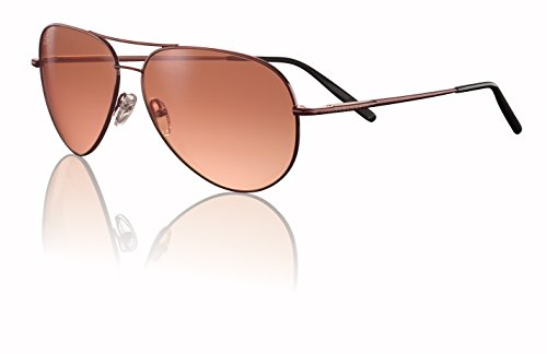 Serengeti Aviator Sunglasses Serengeti Aviators: Medium Aviator, Henna/Drivers Gradient Model 6826