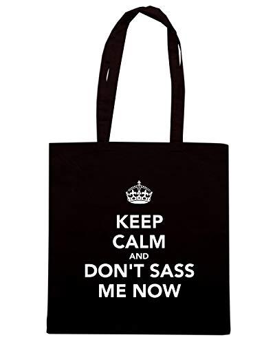 Borsa CALM Shopper Nera ME AND TKC2448 DON'T SASS NOW KEEP aPaBqrxw