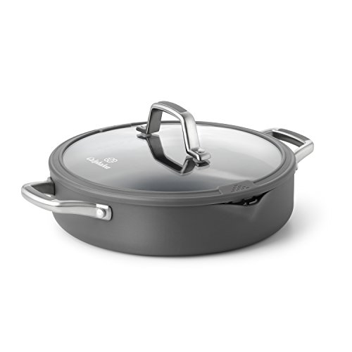 Calphalon Simply Easy System Nonstick Sauteuse and Cover, 3-Quart
