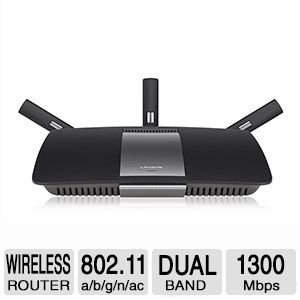 Linksys AC1900 Smart Wi-Fi Wireless-AC Dual-Band Router