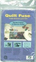 Bulk Buy: Cotswold Quilt Fuse Fusible Nonwoven Layout Grid 48