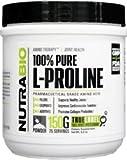 NutraBio 100% Pure L-Proline Powder - 150 Grams