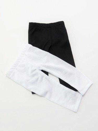 """Black and White- Two Pair of Leggings 