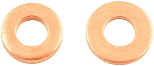Set of 50 Connect 31757 Common Rail Copper Injector Washer 15.00 x 7.5 x 1.0 mm