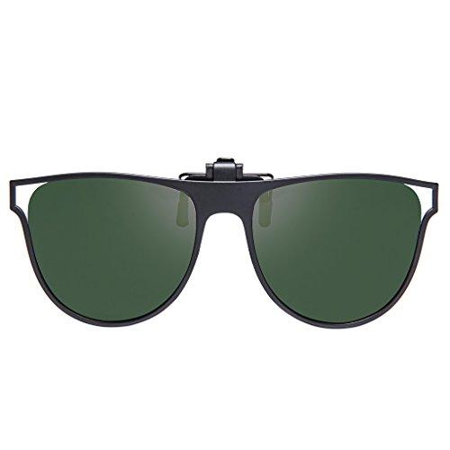 e81606e98df BELLBESSON - Polarized Clip-on Flip up Clip Sunglasses Lenses for Driving  Fishing Outdoor Sport Travelling lovely