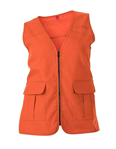 DSG Outerwear Women's Blaze Hunting Vest (Blaze Orange, LG/XL) by DSG Outerwear