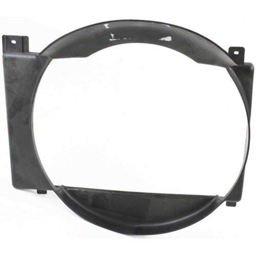 Fan Shroud Compatible with JEEP COMANCHE 1986-1992 / CHEROKEE 1987-2001 6 cyl Mechanical Fan type