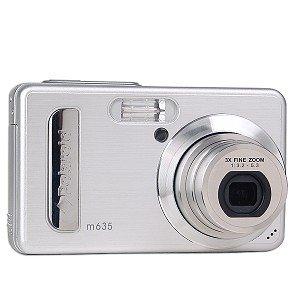 Polaroid m635 6MP 3x Optical/4x Digital Zoom Camera (Silver)