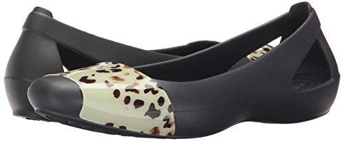 Pictures of Crocs Women's Sienna Leopard Fade Flat Crocs Sienna Leopard Fade Flat 4