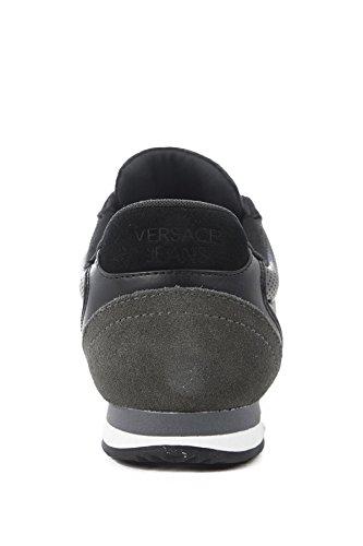 Versace Jeans Linea Fondo Running DIS. 4 E0YRBSA370105899 Herren Halbschuhe (45, Black)