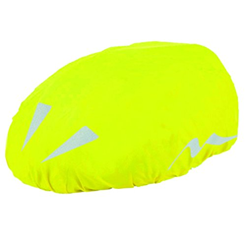 M-Wave Reflective Helmet Cover, Neon Yellow