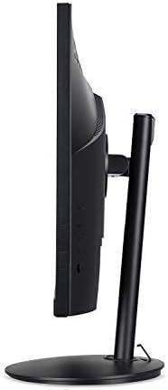 Acer CB242Y bir 23.8″ Full HD (1920 x 1080) IPS Zero Frame Home Office Monitor with AMD Radeon FreeSync – 1ms VRB, 75Hz Refresh, Height Adjustable Stand with Tilt & Pivot (HDMI & VGA ports),Black 31MmcaAteuL