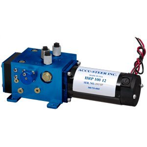 The Excellent Quality Accu-Steer HRP100-12 Hydraulic Reversing Pump Unit - 12 VDC ()