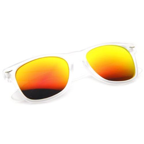 Framework Homme Mirror Frost Orange Pilote de Lunettes soleil f4rnqfS7